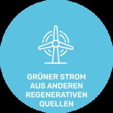 Logo_Grüner Strom aus anderen regenerative Quellen